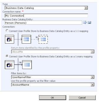 User Profile ImportSettings